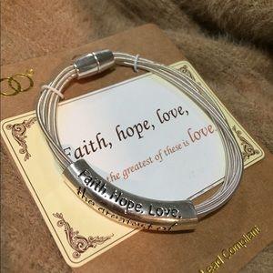 Women's LOVE Silver Bracelet